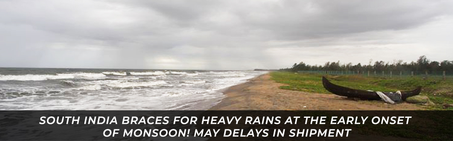 South India Braces for Heavy Rains at the Early Onset of Monsoon!